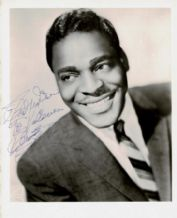 Brook Benton Autograph Photo - Rainy Night In Georgia